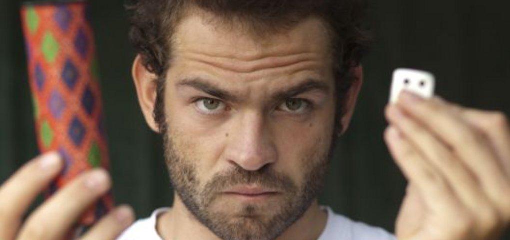 Florian porträtierte Luc Schaefer aus Metz.