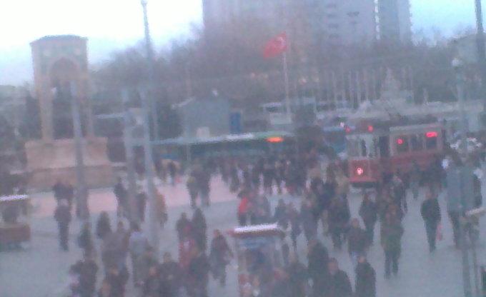 Taksim/İstiklal Caddesi ( İstiklal Straße )