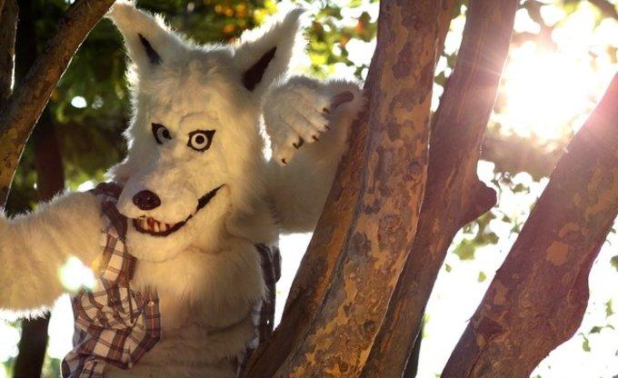 Der Schnappschuß-Wolf...