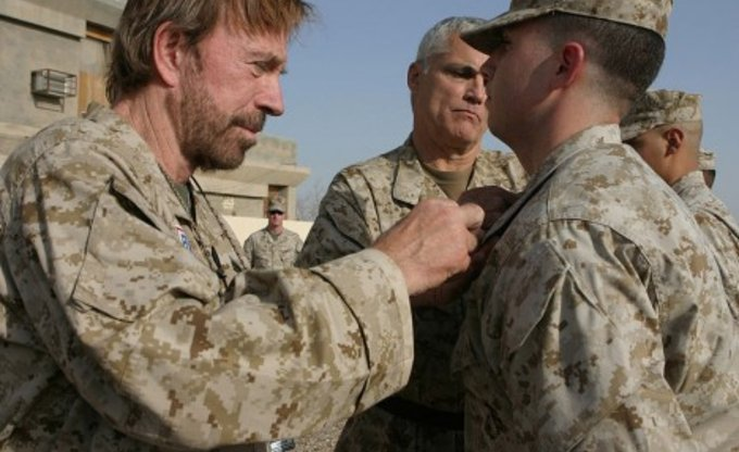 Chuck Norris im Irak