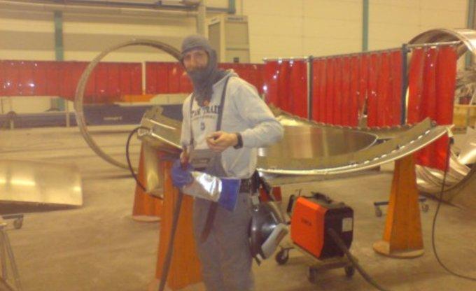 Darth Welder at work...:-)