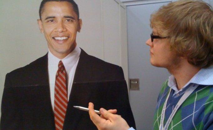 Wir hatten Barack schon. Ohne Tamtam.