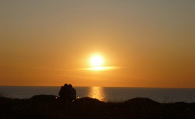 Sonnenuntergang in Dänemark am Strand =)