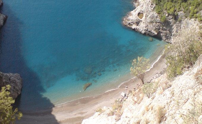 Bucht bei Amalfi