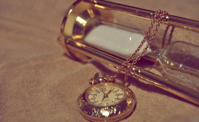 Die Zeit steht still