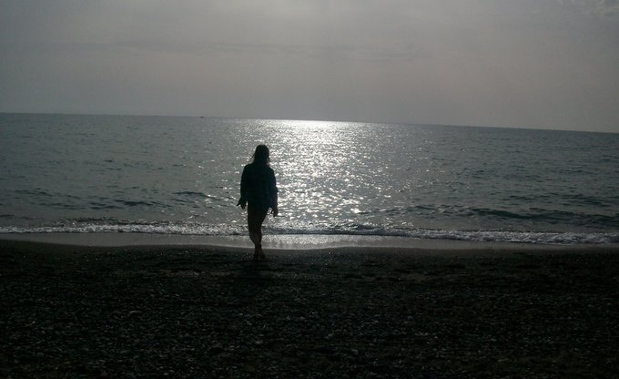 Ich am Meer