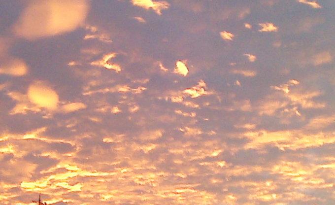 Ein Traum aus Sonne und Wolken.