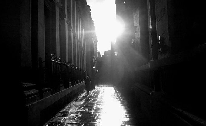 Sunshine after rain...