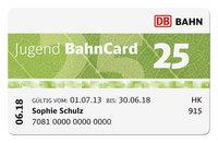 Jugend Bahncard 25